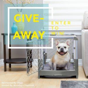 Diggs Revol Dog Crate Giveaway