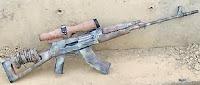 Al-Qadissiya Tabuk Designated Marksman sniper rifle