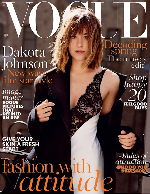 Actress, Model, @ Dakota Johnson - Vogue UK , February 2016
