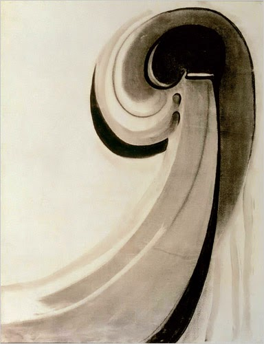 art technique and georgia okeeffe As in other similar works, o'keeffe depicts them as if viewed from a close-up   also derived from the photographic framing technique is the manner of  close- up views of flowers were a frequent theme in georgia o'keeffe's artistic output.