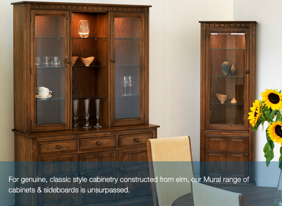 Haynes furnishers ercol furniture sale for Ercol mural cabinets and sideboards