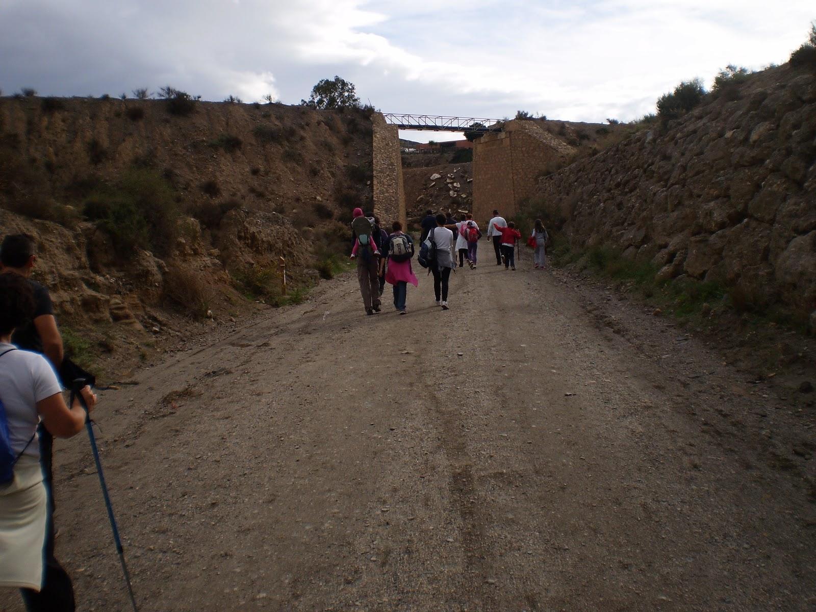 Centro guadalinfo de pechina marcha de convicencia a los - Banos de sierra alhamilla ...