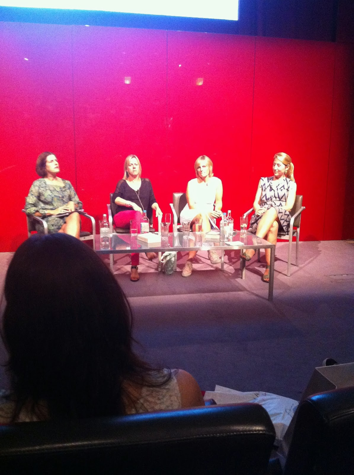 Red Magazine Event Panel Jojo Moyes Freya North Lisa Jewell