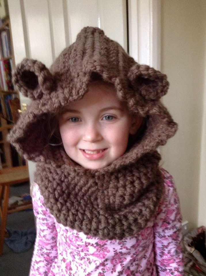 The Joyful Keeper Crochet Creations Baylie Bear Cowl