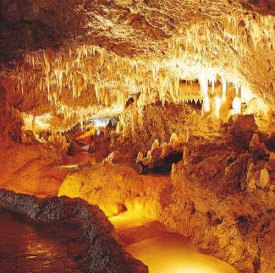 La Cueva de Harrison en Barbados