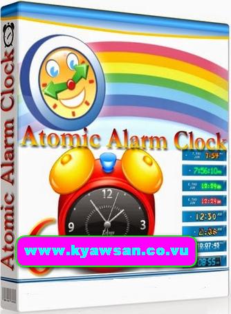 atomic alarm clock 6.264 key