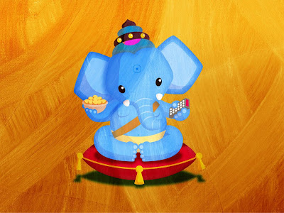 Ganesh Chaturthi Special Ganesha HD Wallpaper