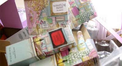 Somthing Sweet Lise Watier fragrance