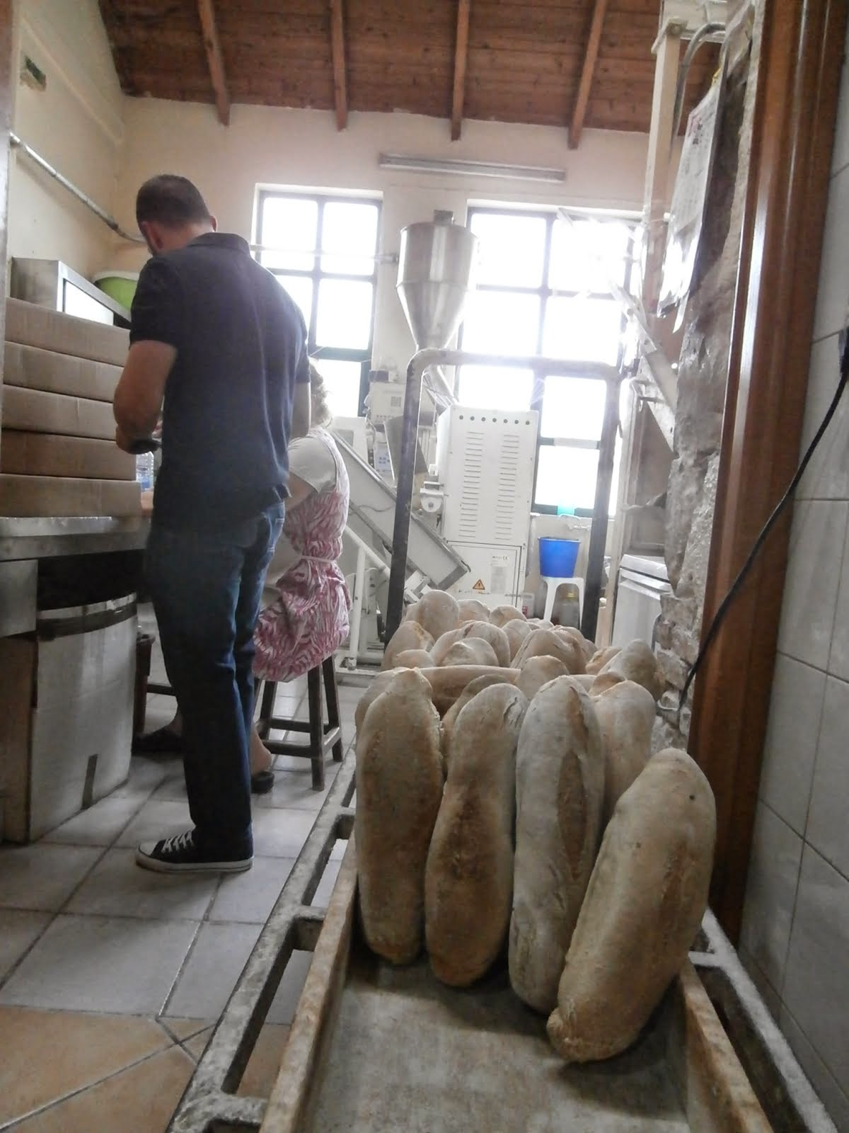 Bread Baked in a Wood Oven, Chania, October 2014