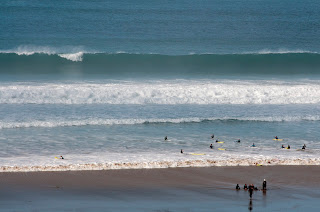 Surf lessons at watergate bay Cornwall