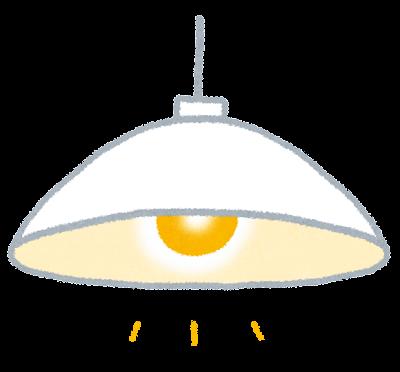 照明のイラスト「白熱電球」