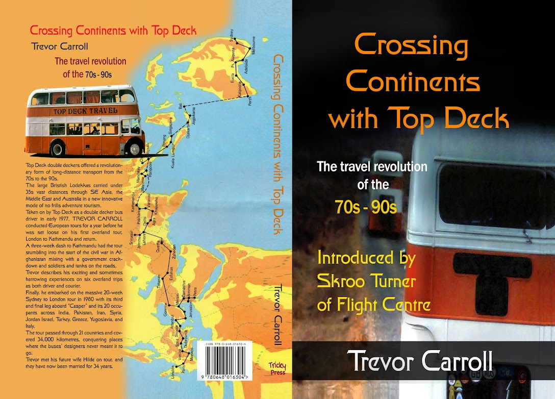 Crossing continents with Top Deck, the travel revolution of the 70's - 90's