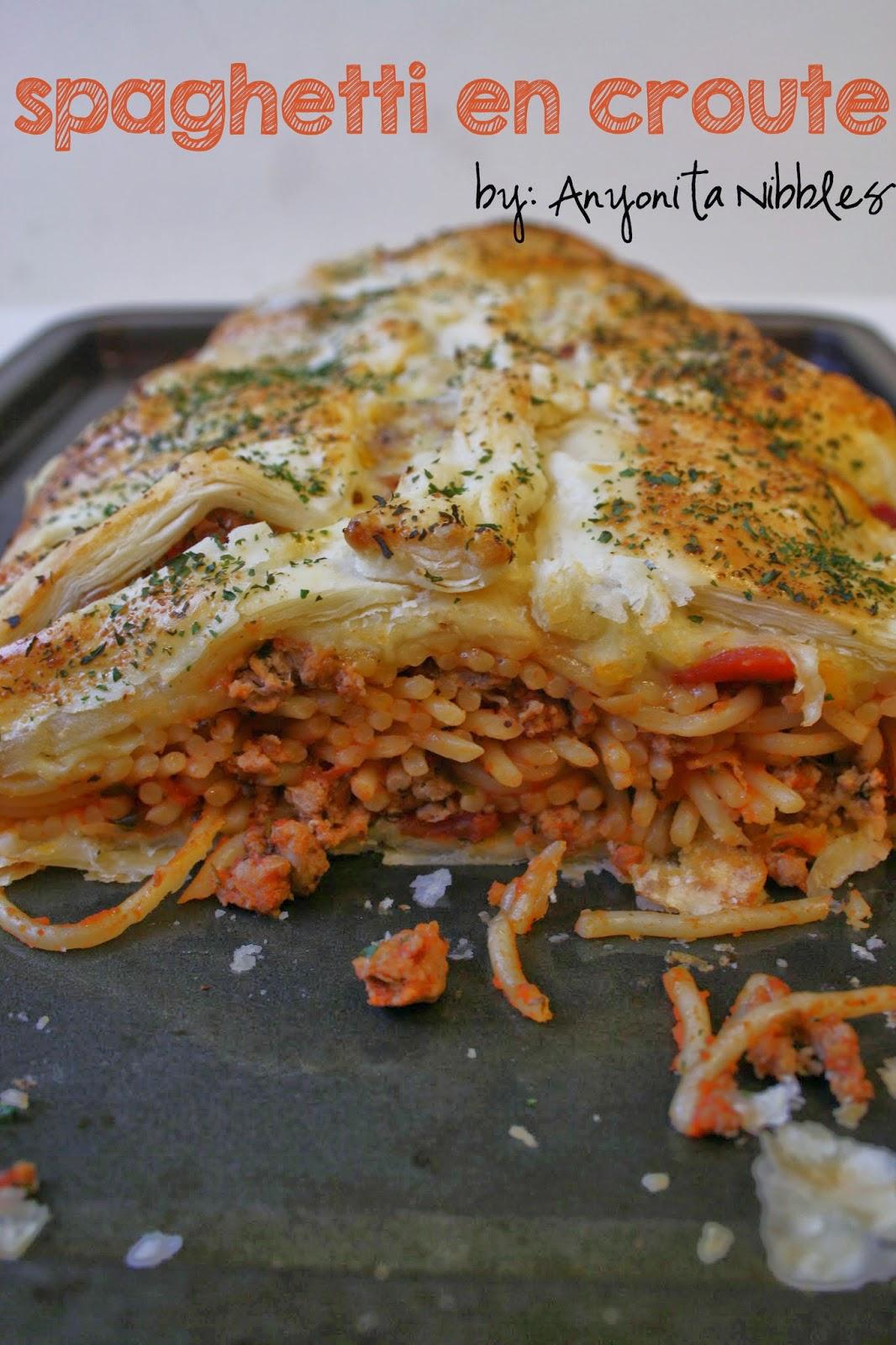 Spaghetti en Croute | Anyonita Nibbles