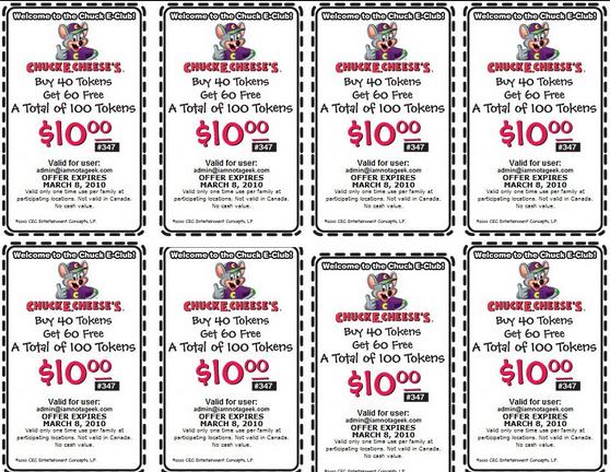 Pnp coupons