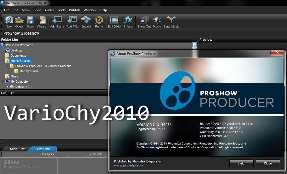 Proshow Producer 60.3410 Full Activation