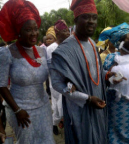 mercy johnson baby dedication pictures