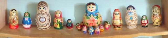 My Matryoshka Dolls