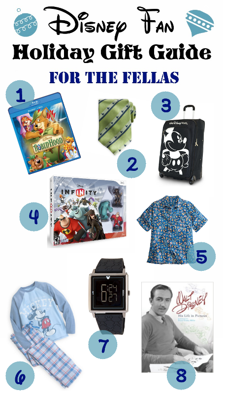 The Disney Fan's Holiday Gift Guide 2013 - For the Fellas