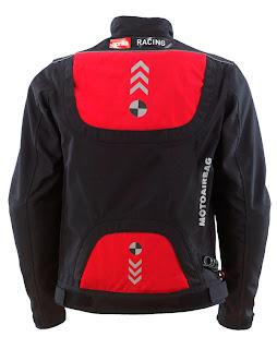 The Airbag Jacket Aprilia back side