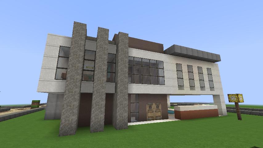 Minecraft modern house by keralis stefanusk for Modern house 5 keralis