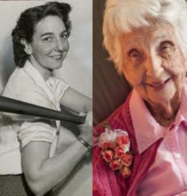 Edith Houghton dies