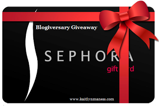 $30 Sephora Gift Card Giveaway