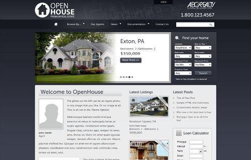 tema para blog de agente imobiliário