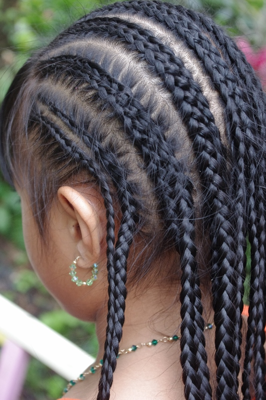 Marvelous Braids Amp Hairstyles For Super Long Hair Micronesian Girl Cornrow Hairstyle Inspiration Daily Dogsangcom