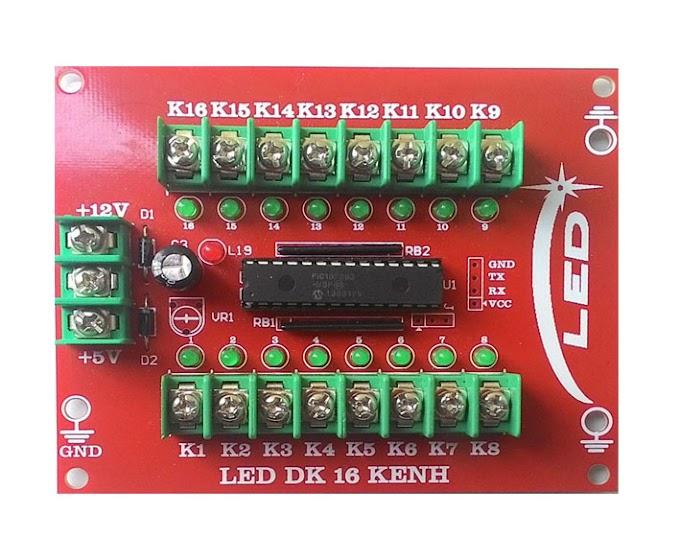 Mạch công suất điều khiển led Quảng cáo