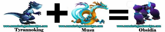 como sacar a obsidia en monster legends formula 2