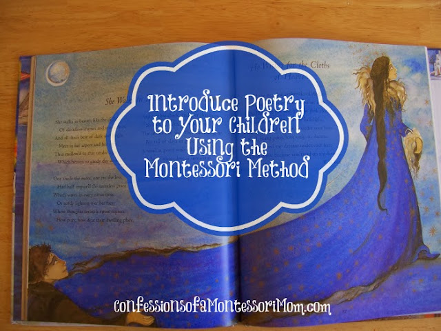Introduce Poetry to Your Children Using the Montessori Method