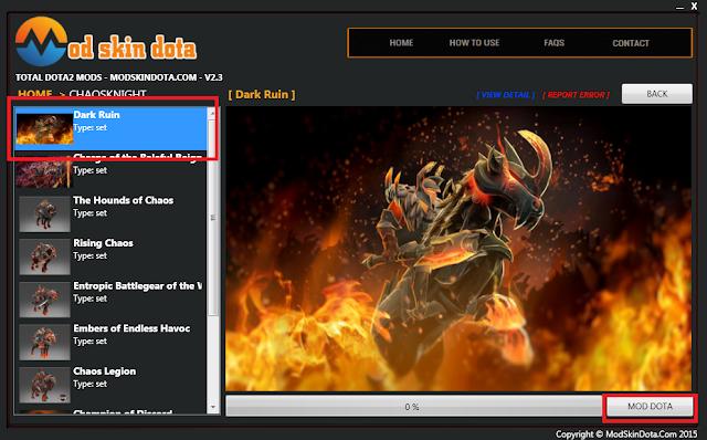 [Mod Dota] Chaos Knight Dark Ruin