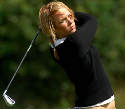 female golfer Rachel Connor