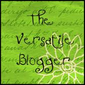 Premio The Versatile Bloger de El dulce paladar