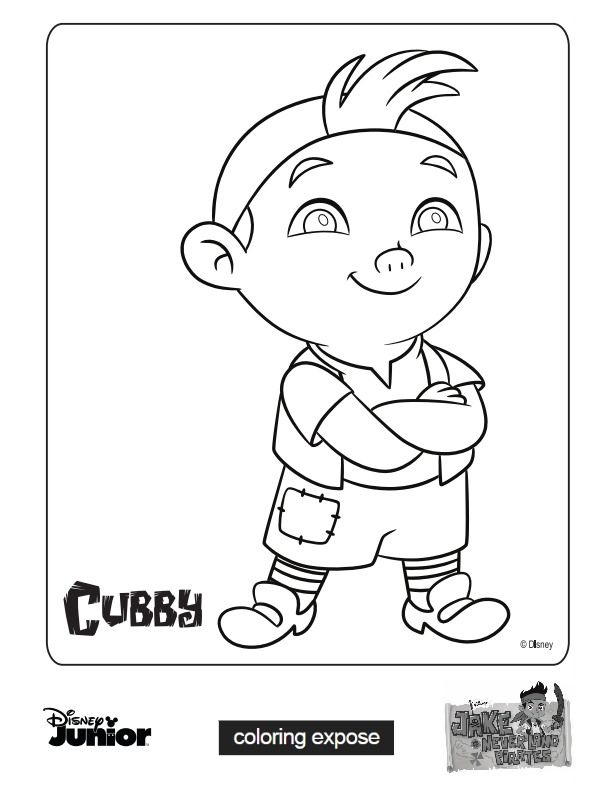 Jake And The Neverland Pirates Coloring Pages Click Image To Download