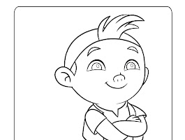 Disney Jake And The Neverland Pirates Coloring Pages