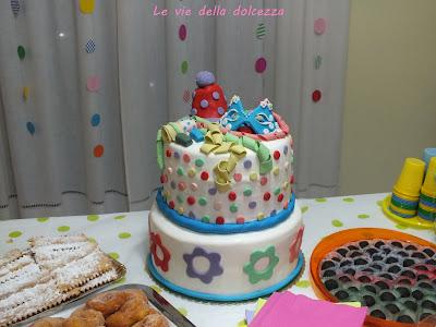 torta bambini carnevale