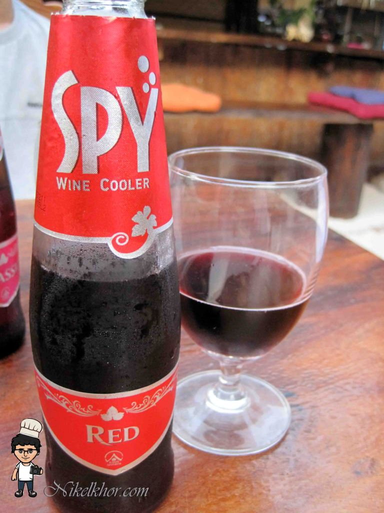 Spy Wine Cooler Classic Spy Wine Cooler Red 90bath