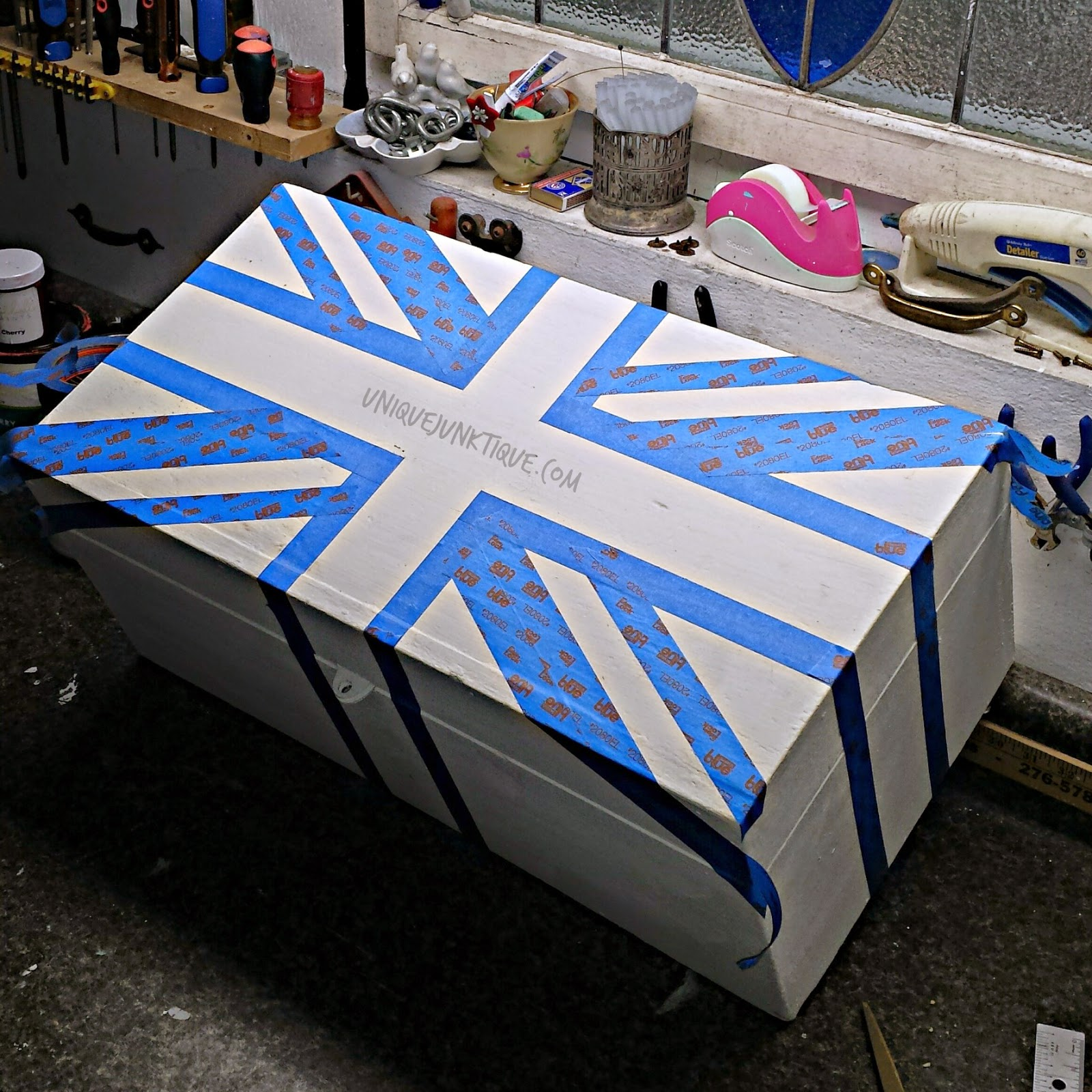 Union Jack Taping Technique Part 2