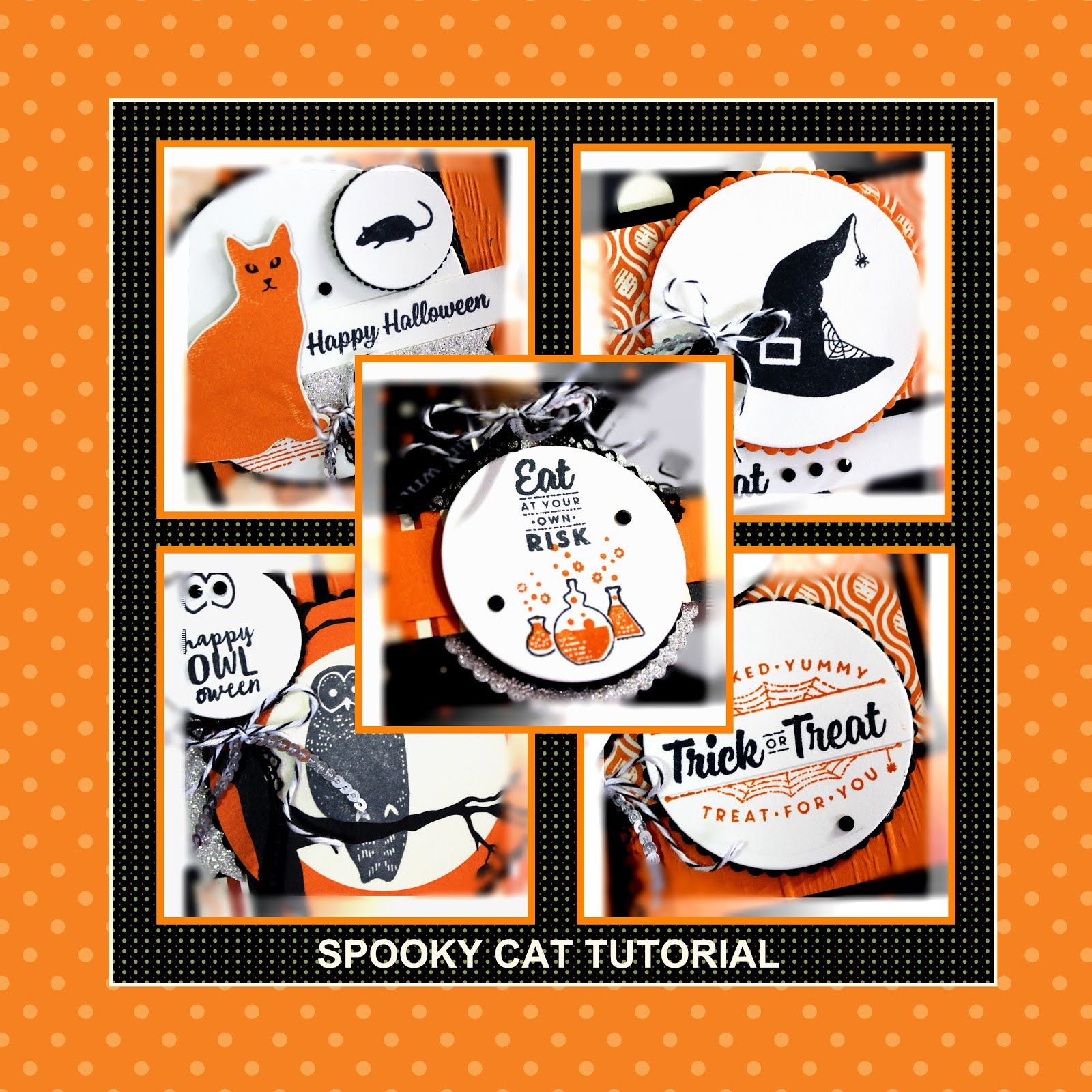 October 2017 Spooky Cat Tutorial