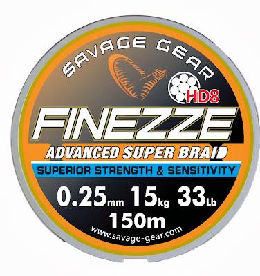 Quentin Combe Savage Gear Nouveautés News 2014 Fils Nylon Tresse Finesse Finezze HD8 Braid