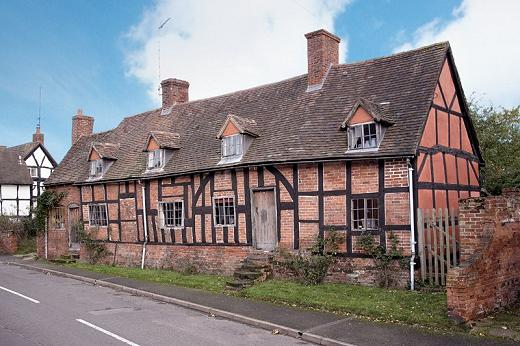 Brick Timber Frame Homes : Dolls houses and miniatures period style tudor