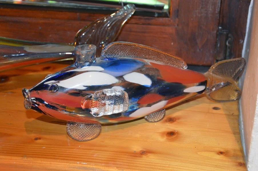 szklana ryba
