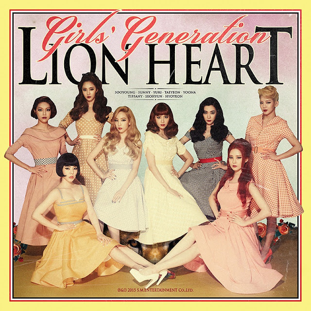SNSD Girls Generation Lion Heart lyrics Cover