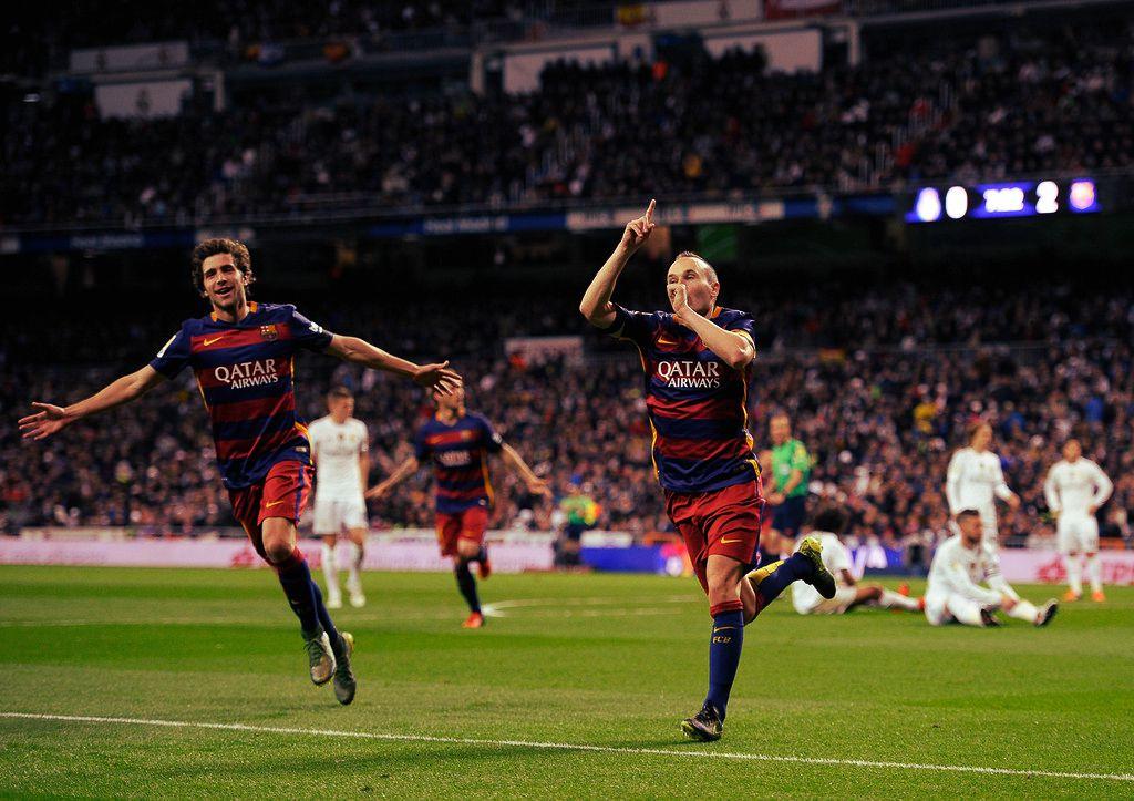 Barca Produce Clasico Bernabeu 4 Real Madrid 0 Barcelona