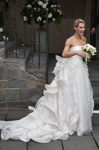 wedding Michelle Hunziker