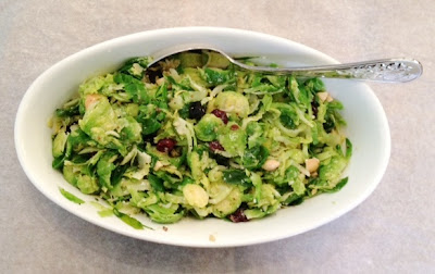 Misfit M Street Kitchen Brussels Sprout Salad Recipe