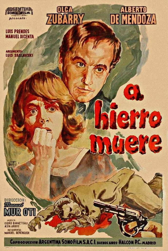 A hierro muere ( 1962 ) Español DescargaCineClasico.Net