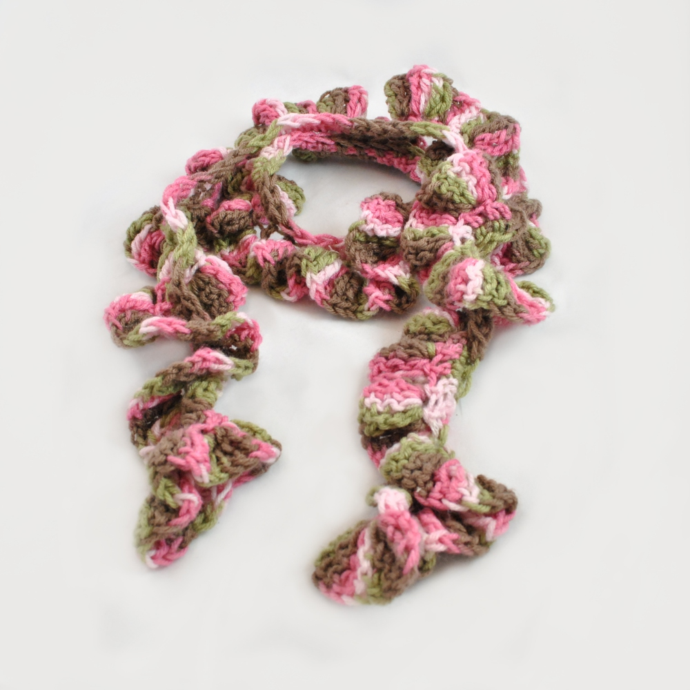 Crochet Patterns Ruffle Scarf : abreviations ch chain dc double crochet tc triple crochet sl