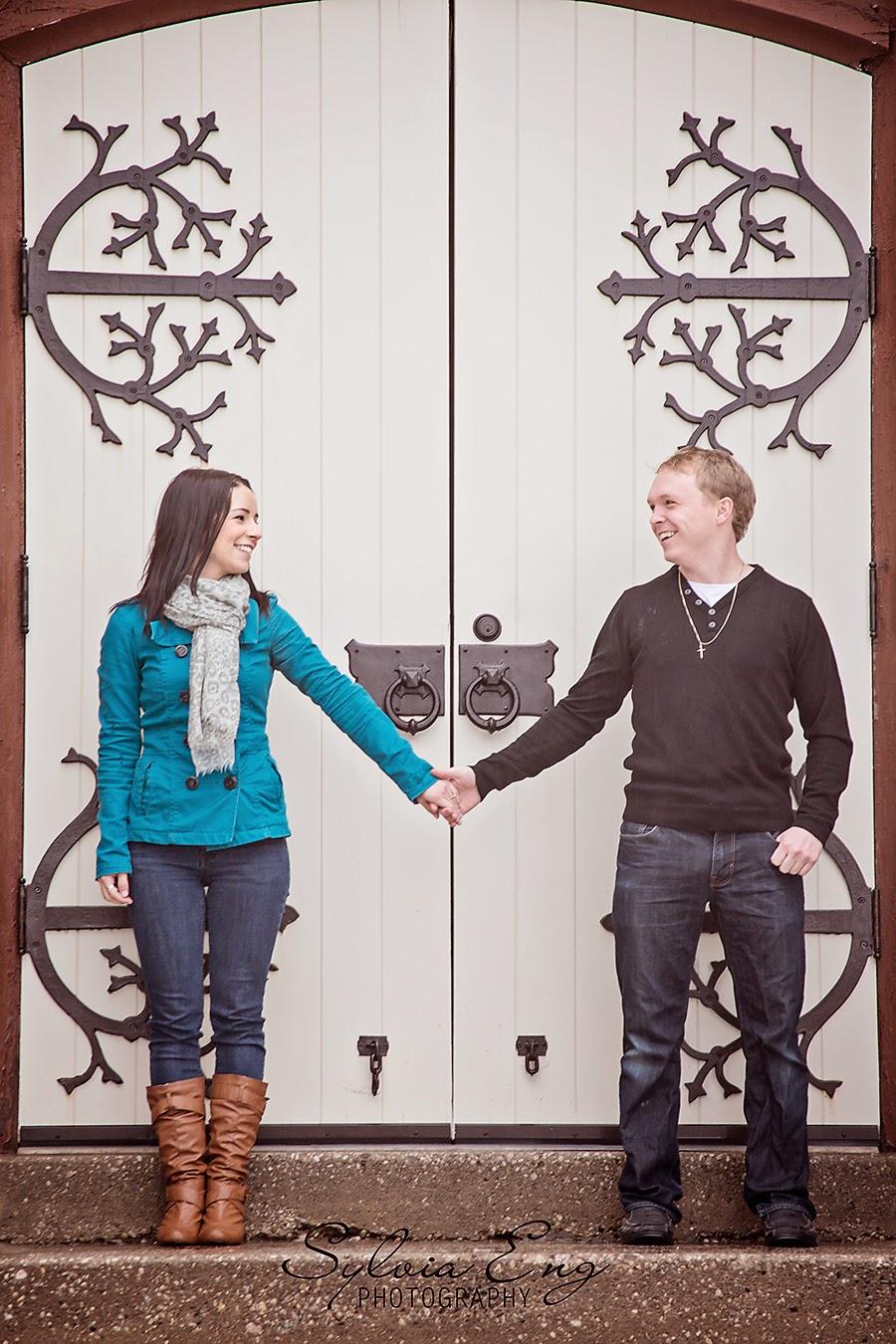 Surprise Proposal and Engagement Photos - Downtown Brampton